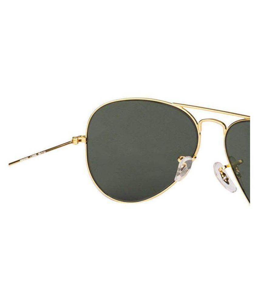 092583d67c Ray Ban Original Green Aviator Sunglasses ( 0RB3025 L0205 ) - Buy ...
