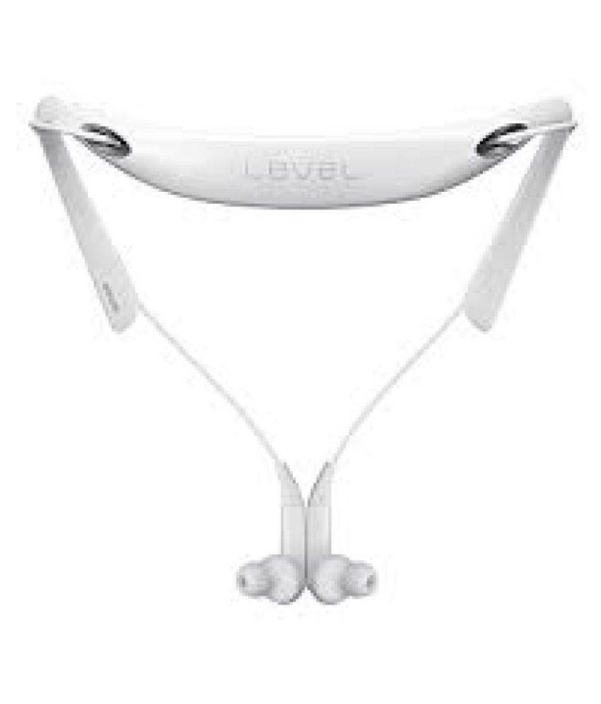 Eyevisionpro Samsung Level U Neckband Bluetooth Headset White Bluetooth Headsets Online At Low Prices Snapdeal India