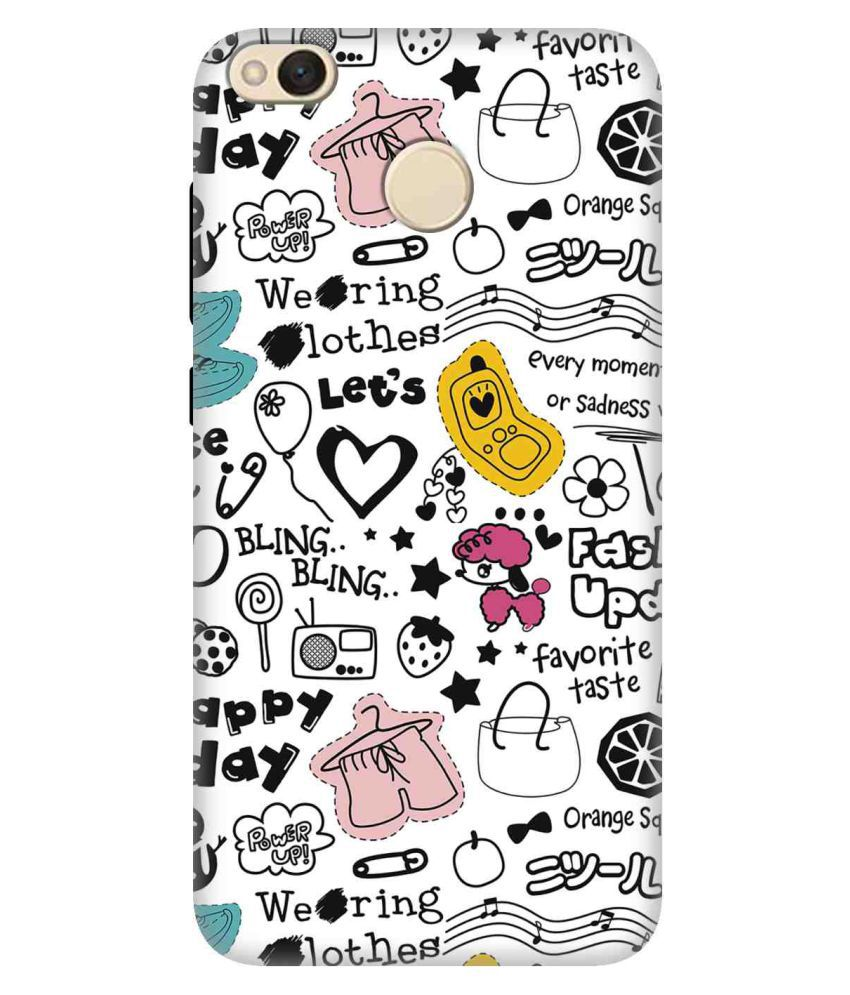 Xiaomi Redmi 4 3D Back Covers By TAG