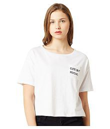 5cd0ae442 Women s Tees   Polos  Buy T-shirts for Women Online at Best Prices ...