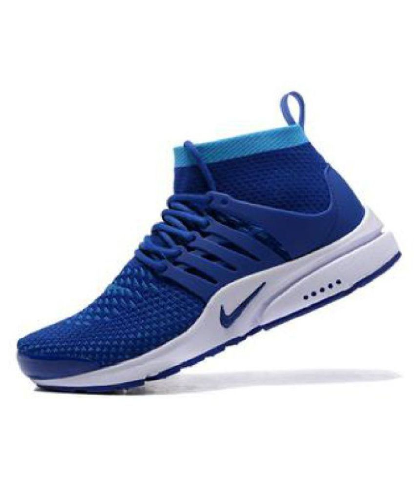 hot sale online fe506 fee44 Nike Air Presto Blue Running Shoes