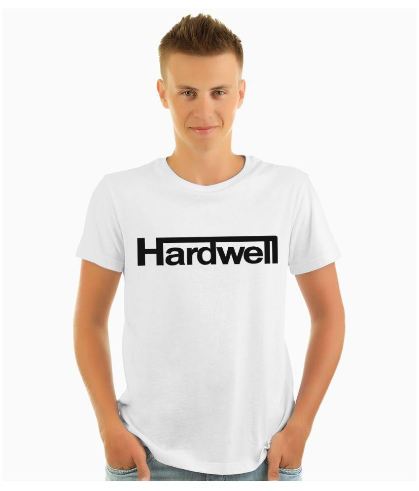 NUTSPIN White Half Sleeve T-Shirt