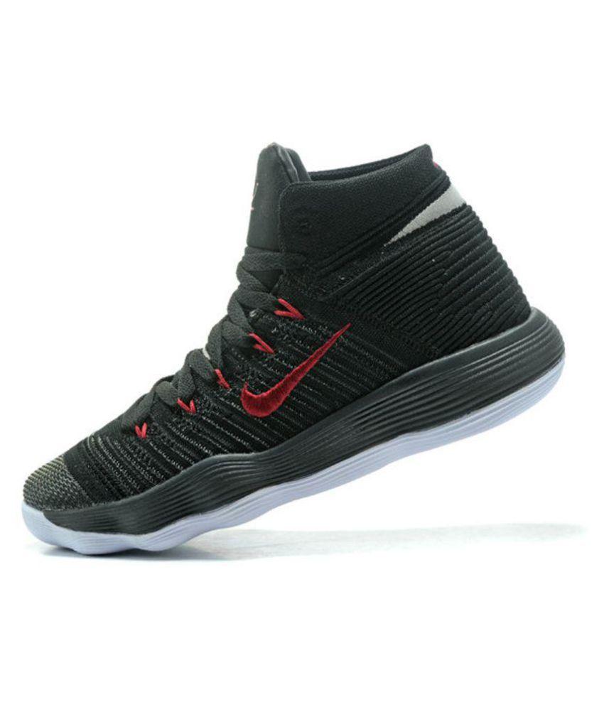 47475652d3e Nike hyperdunk 2018 flyknit Black Basketball Shoes - Buy Nike ...