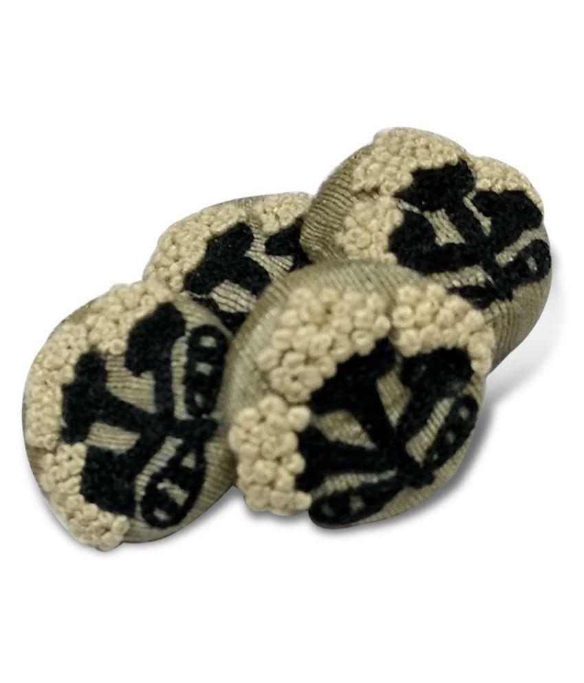 Jacknjewel Aluminum 2-Holes Button