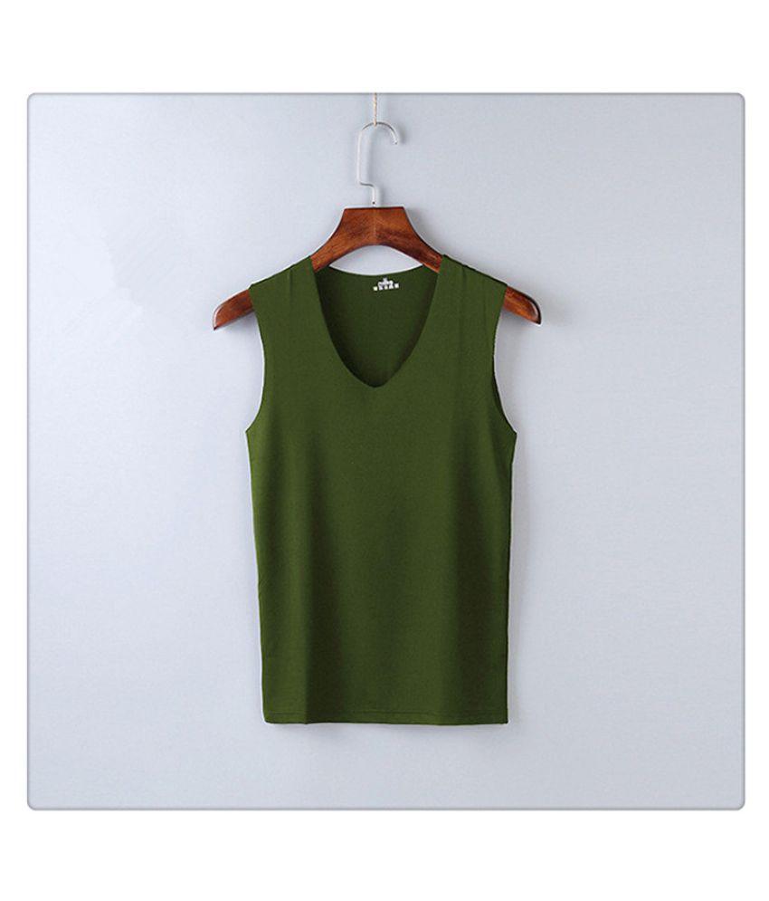 Men's Thin Summer Wide Shoulder Sleeveless Shirt