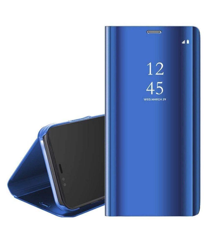 Samsung j7 Prime Flip Cover by REGLET - Blue