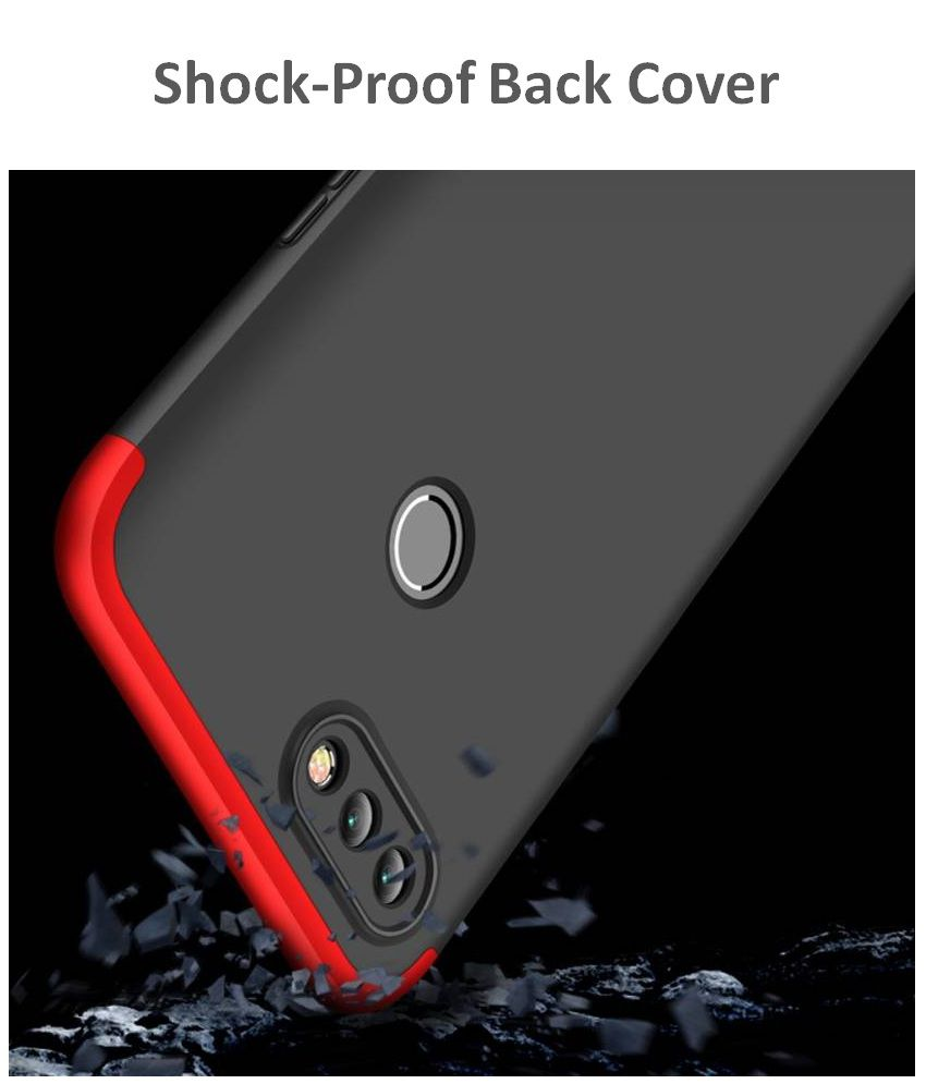 Realme 2 Pro GKK Hard Back Cover by Shopyholik - Red