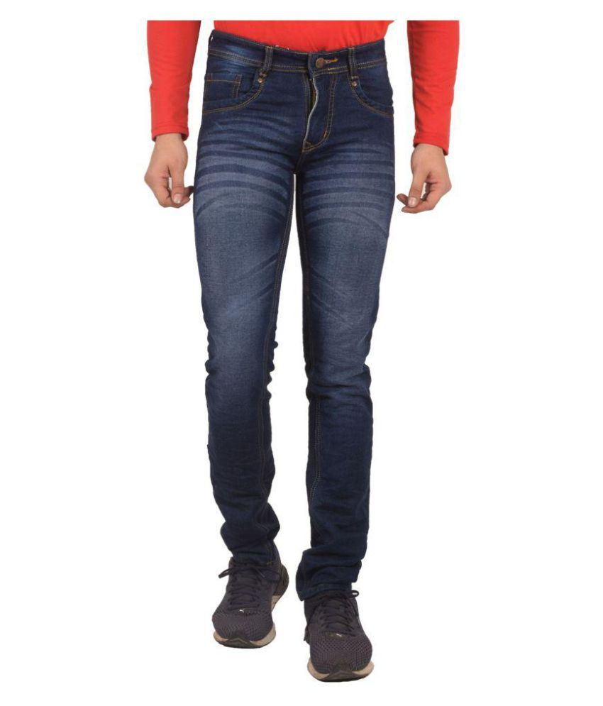 Club and Crew Blue Slim Jeans