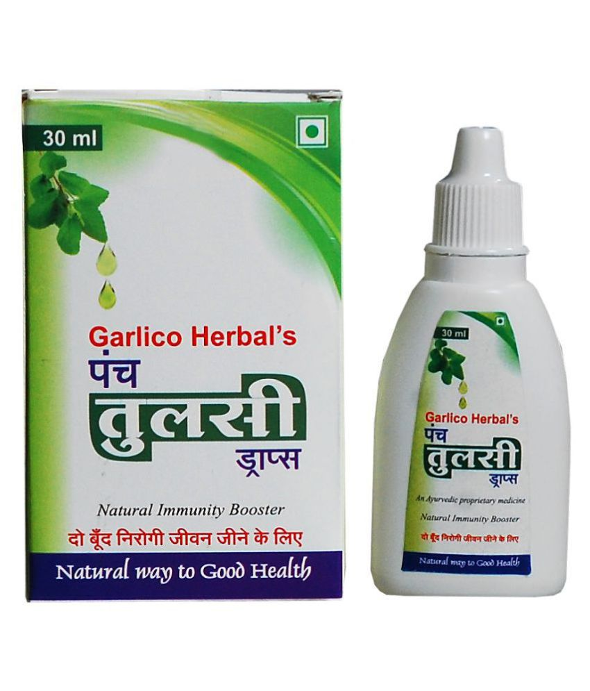 Garlico Herbal Panch Tulsi Drops Oil 30 ml Pack Of 1