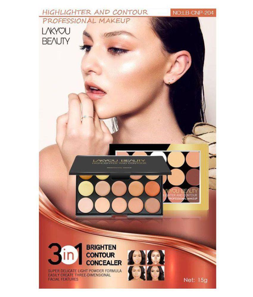 c0db43c5f5a2 Lakyou Beauty Highlighter & Contour Makeup Contour Kit