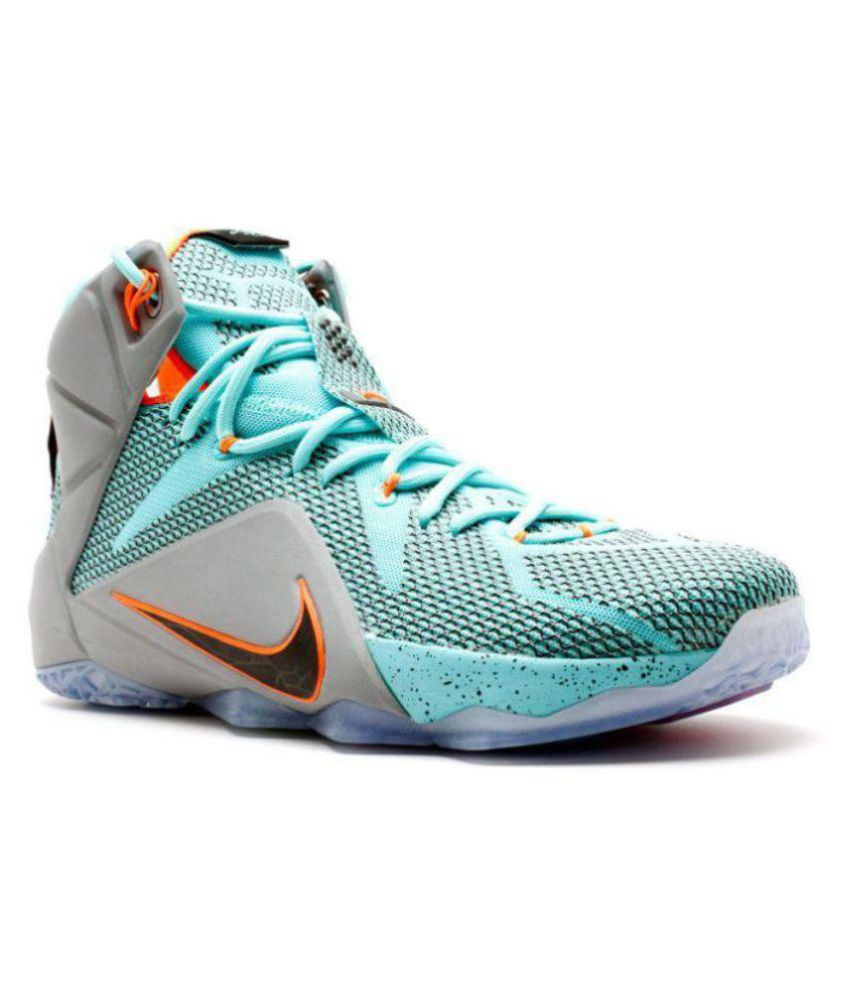 e41726e989c1 Nike Lebron X12 Blue Basketball Shoes - Buy Nike Lebron X12 Blue Basketball  Shoes Online at Best Prices in India on Snapdeal