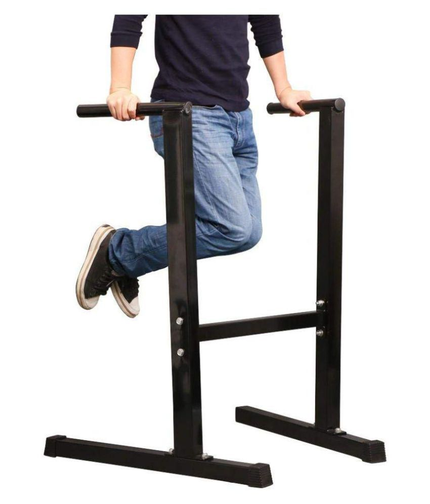 home gym dip station stand chest tricep push up exercise workout rh snapdeal com