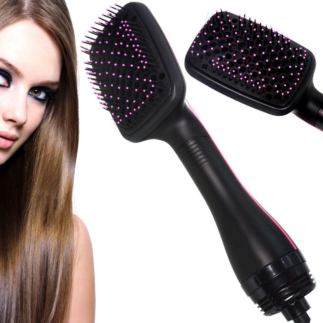 Jm 2 in 1 Flat Iron Professional Travel Hair Straighteners 45W Hair Straightener ( Black )