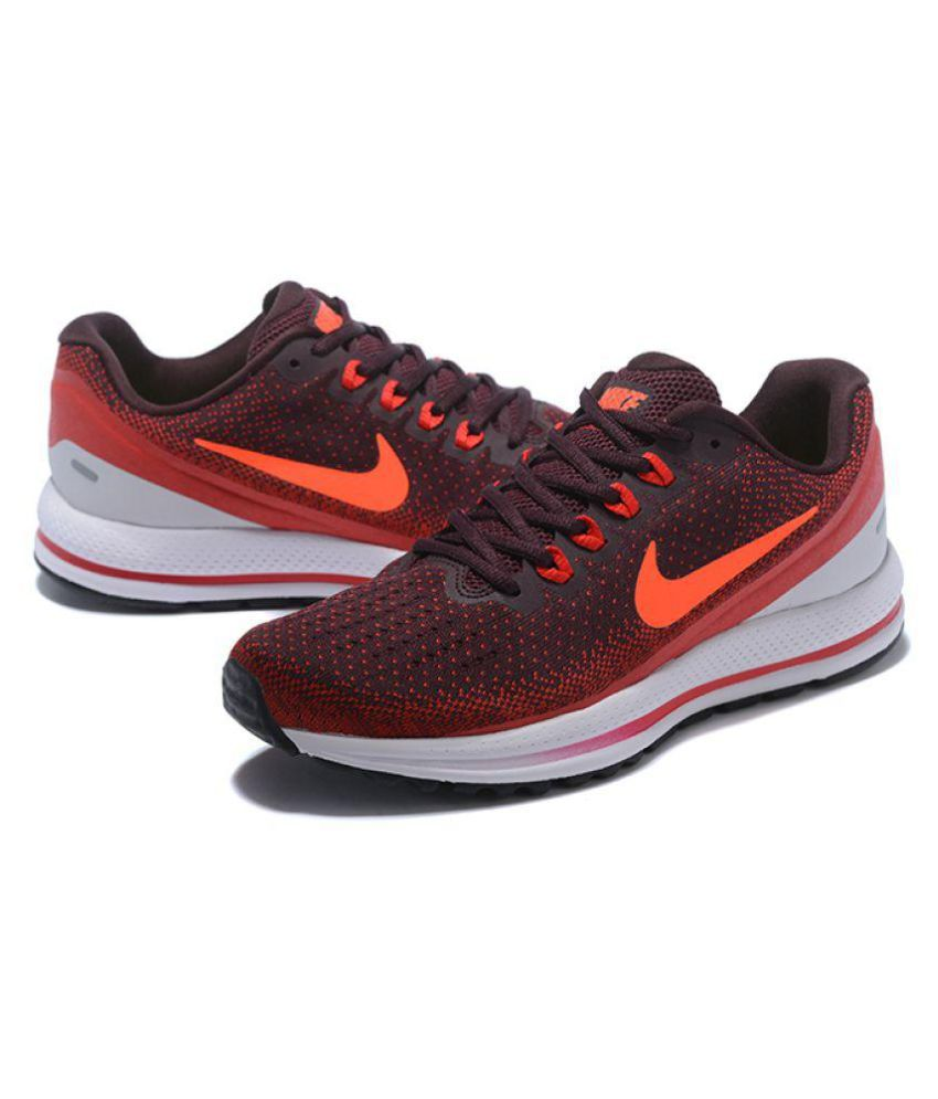 huge discount 136e2 64db5 Nike Vomero 13 Running Shoes Red For Gym Wear