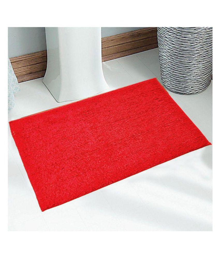 Status Red Set of 2 Anti-skid Floor Mat