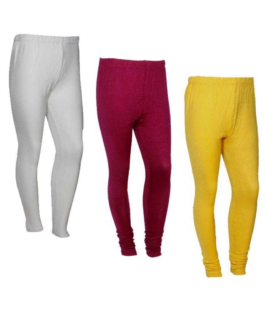 IndiWeaves Woollen Pack of 3 Leggings
