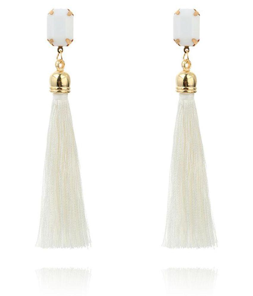Boho Women Dangle Tassels Earrings Wedding Engagement Bridal Jewelry Xmas Gift