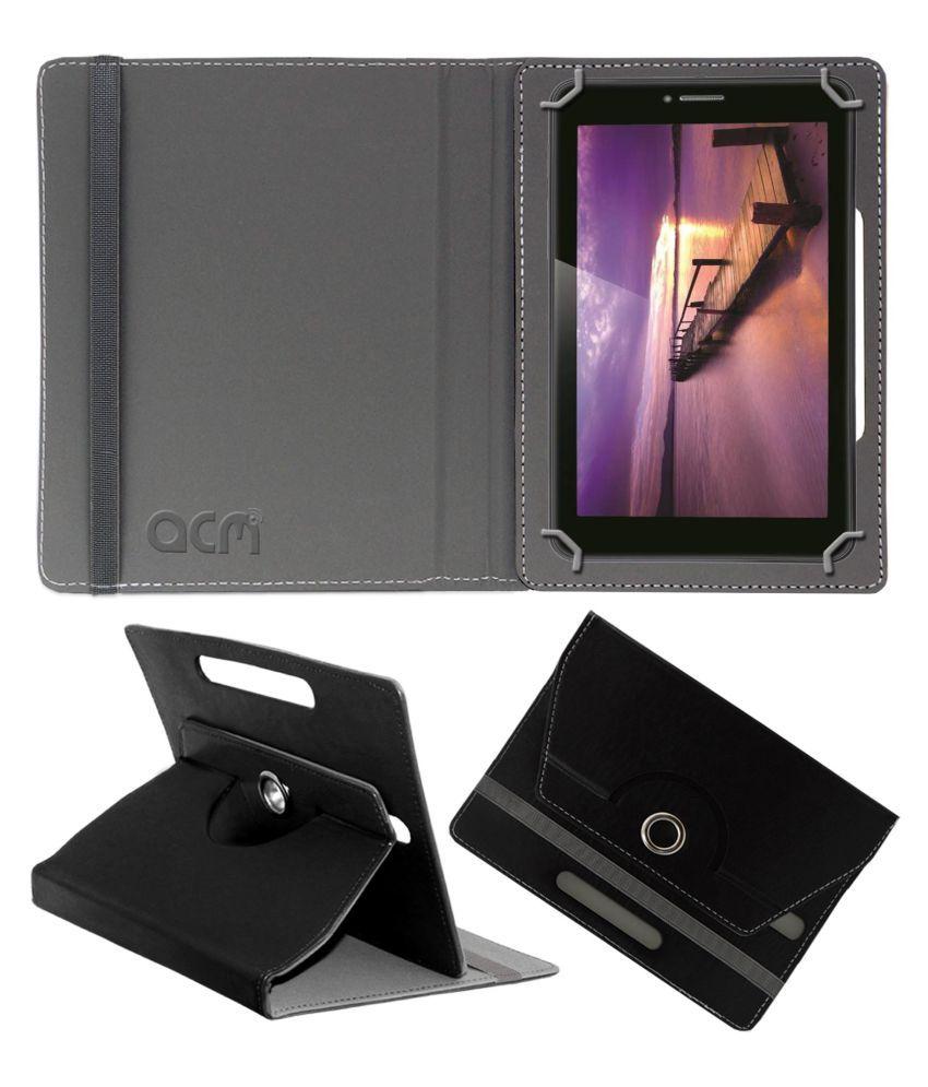 IBALL SLIDE Q45I Flip Cover By ACM Black