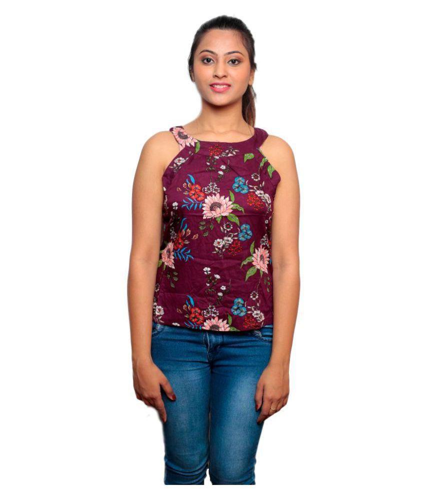 get set fashion Multi Sleeveless T-Shirt