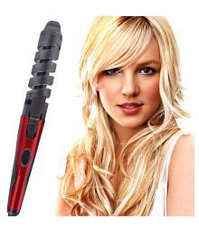 Jm Novaa 45W Hair Curling Curler Rod ( Red & Black ) Product Style