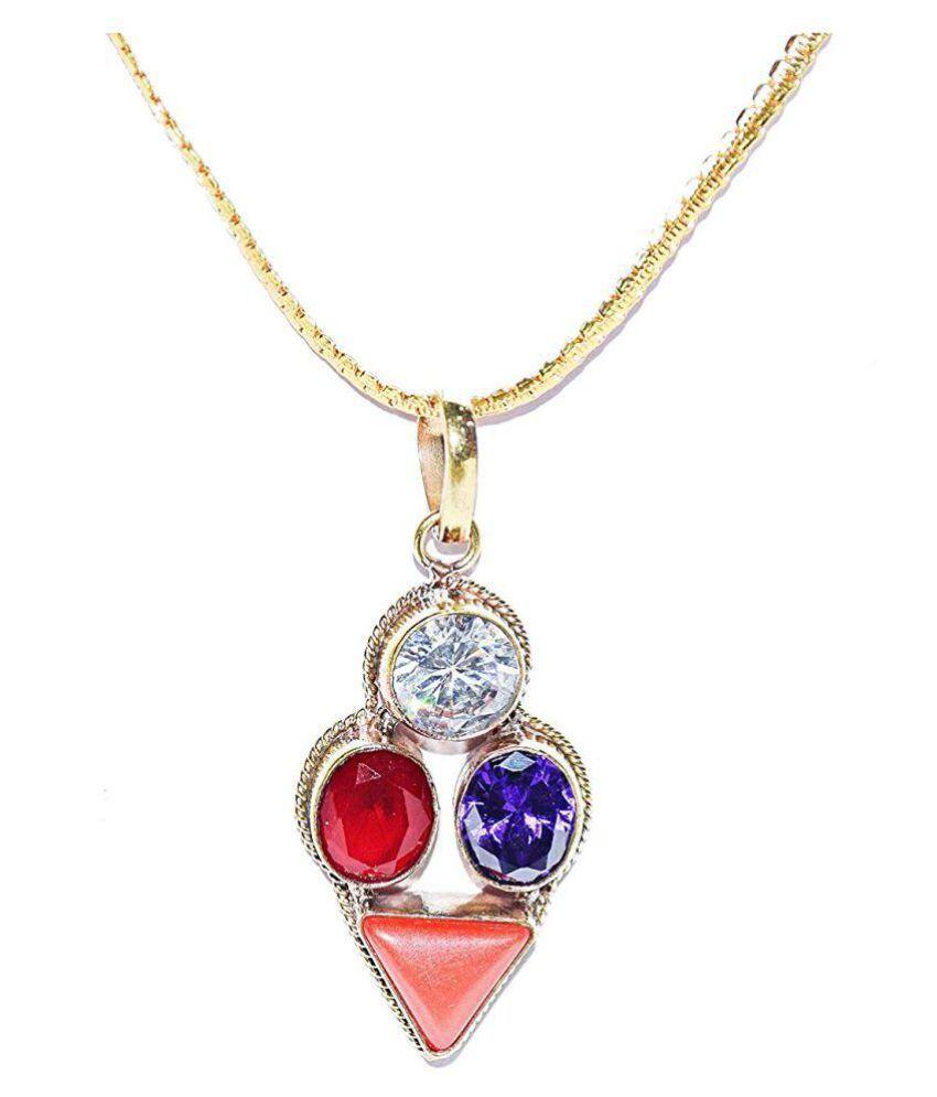 Sagittarius Zodiac semi Precious Gemstone Fortune Lucky Pendant Multicolor 100% Original semi precious Gemstone Prosperity Pendant For Dhanu Rashi