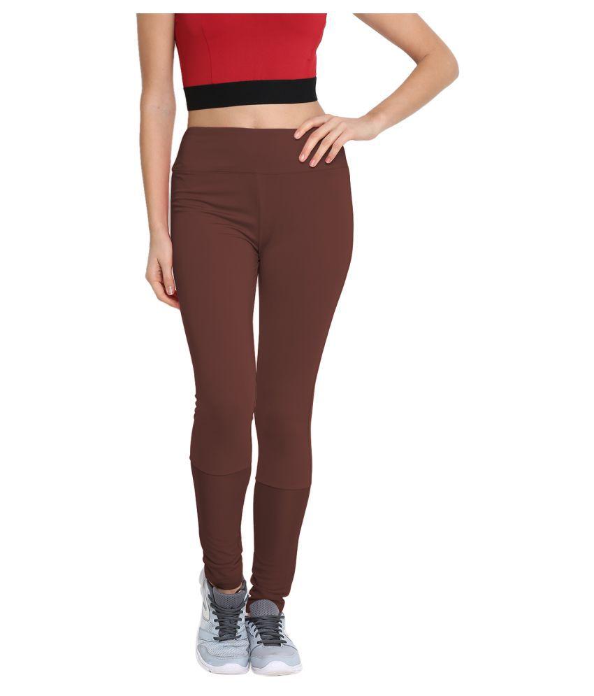 CHKOKKO Mesh Yoga Gym and Active Sports Fitness Leggings Tights High Waist Sports Yoga Pants for Women