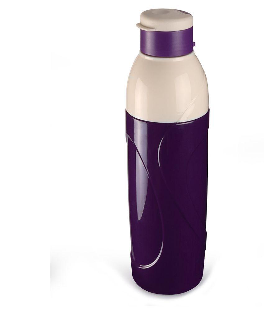85efde482 ... Cello PURO CLASSIC Multicolour 900 ml Plastic Water Bottle Set of 3 ...