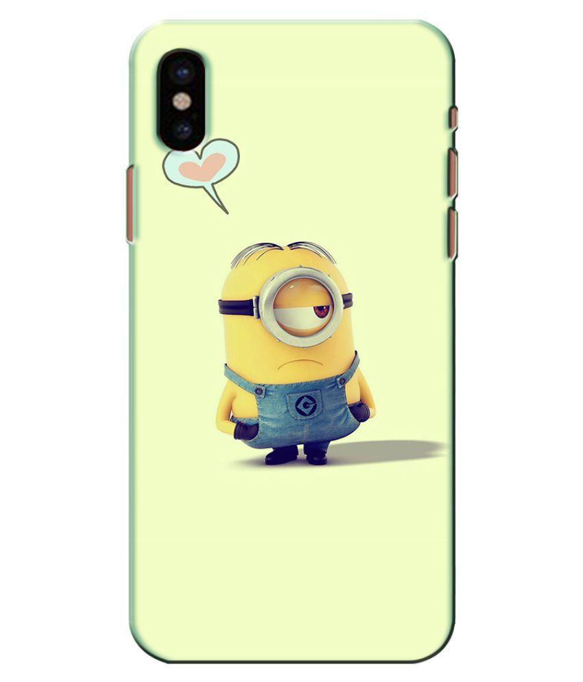 Apple iPhone XS Printed Cover By Case king Lifetime Print