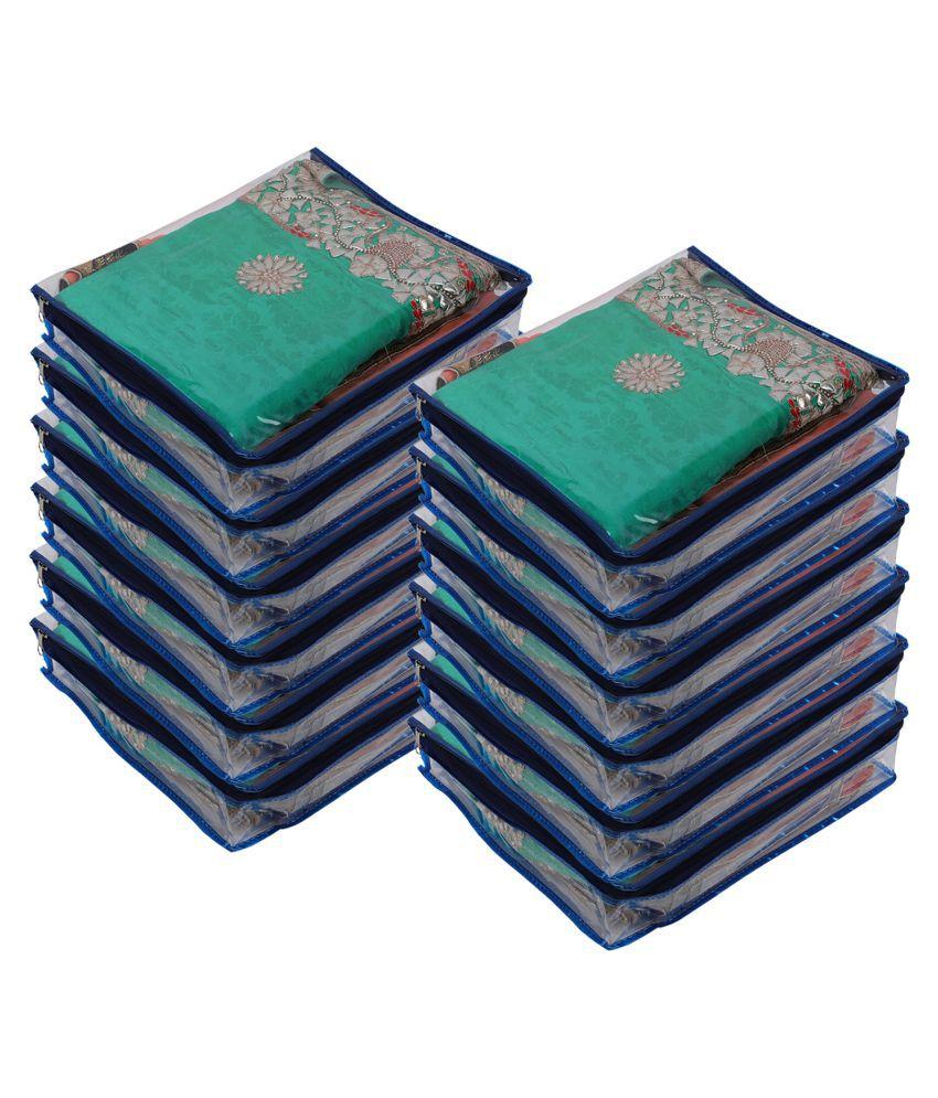 Aashi Blue Saree Covers - 12 Pcs