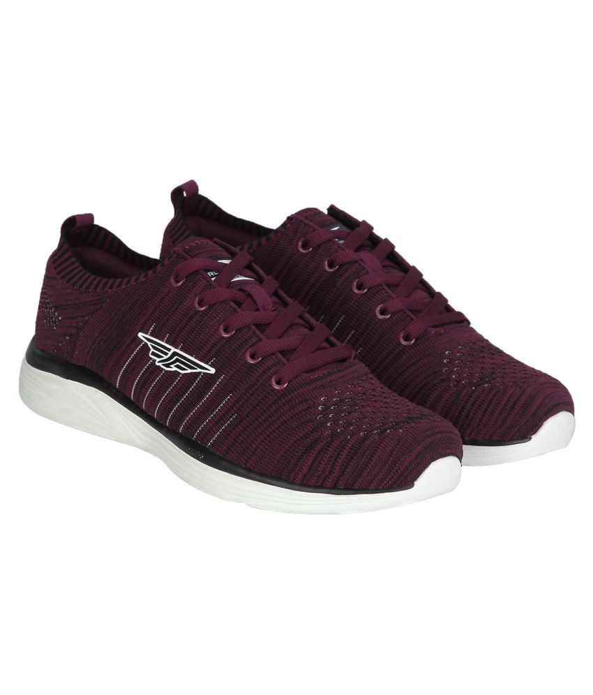 Red Tape Burgundy Running Shoes