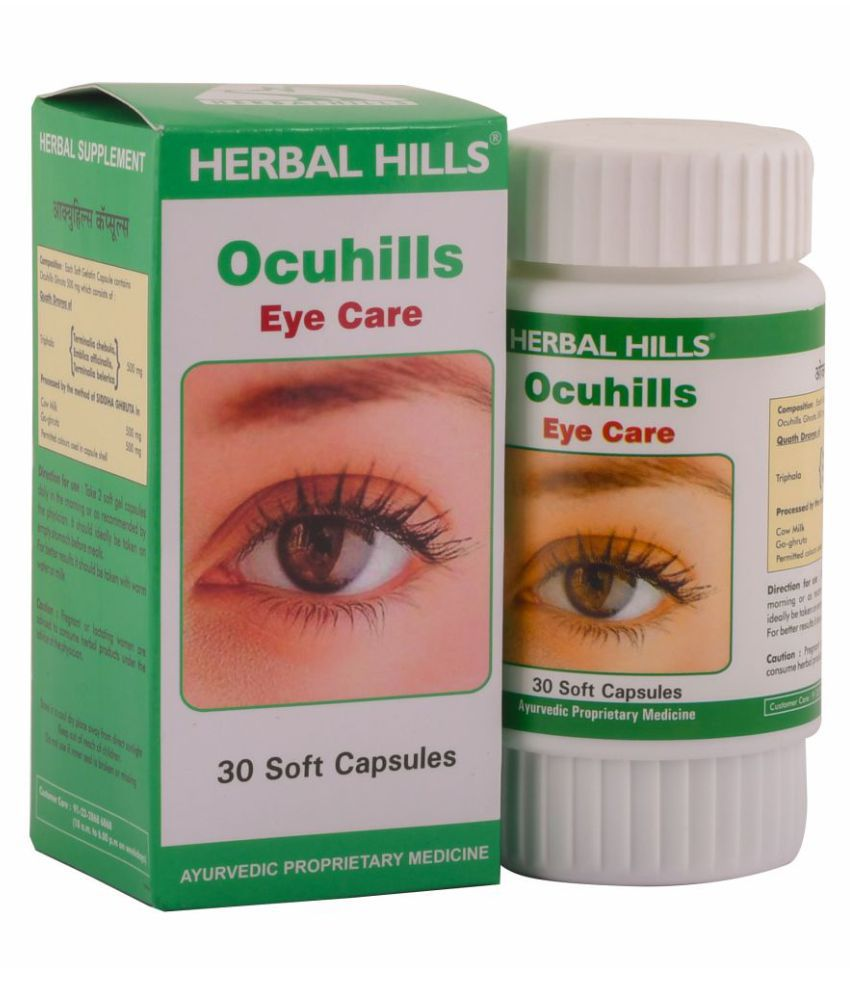 Herbal Hills Ocuhills Capsule 30 no.s Pack Of 1