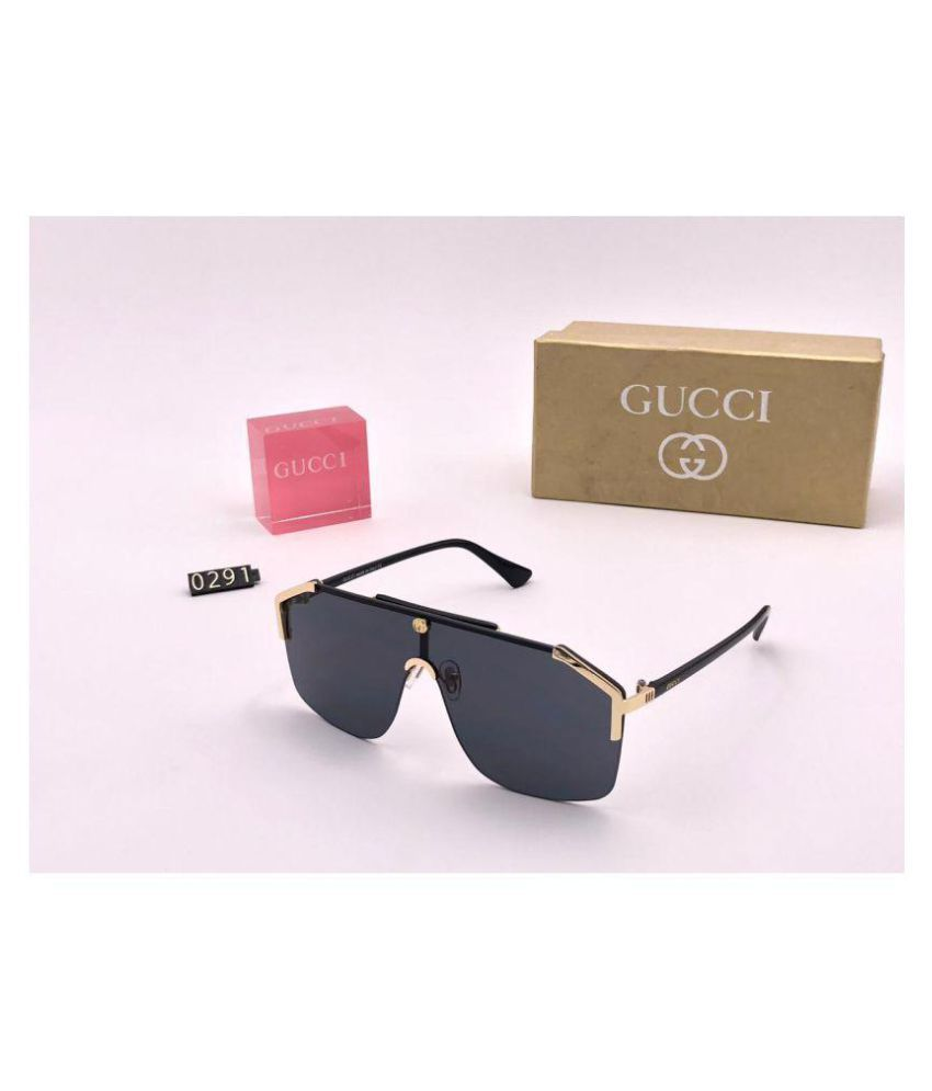 0e4dfd79a98 Burberry Black Square Sunglasses ( GG0291S ) - Buy Burberry Black Square  Sunglasses ( GG0291S ) Online at Low Price - Snapdeal