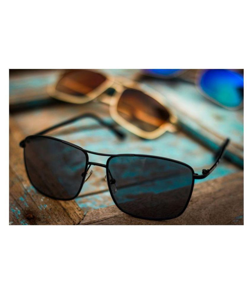 92b2b589cf3 Burberry Black Square Sunglasses ( 8911 ) - Buy Burberry Black Square  Sunglasses ( 8911 ) Online at Low Price - Snapdeal