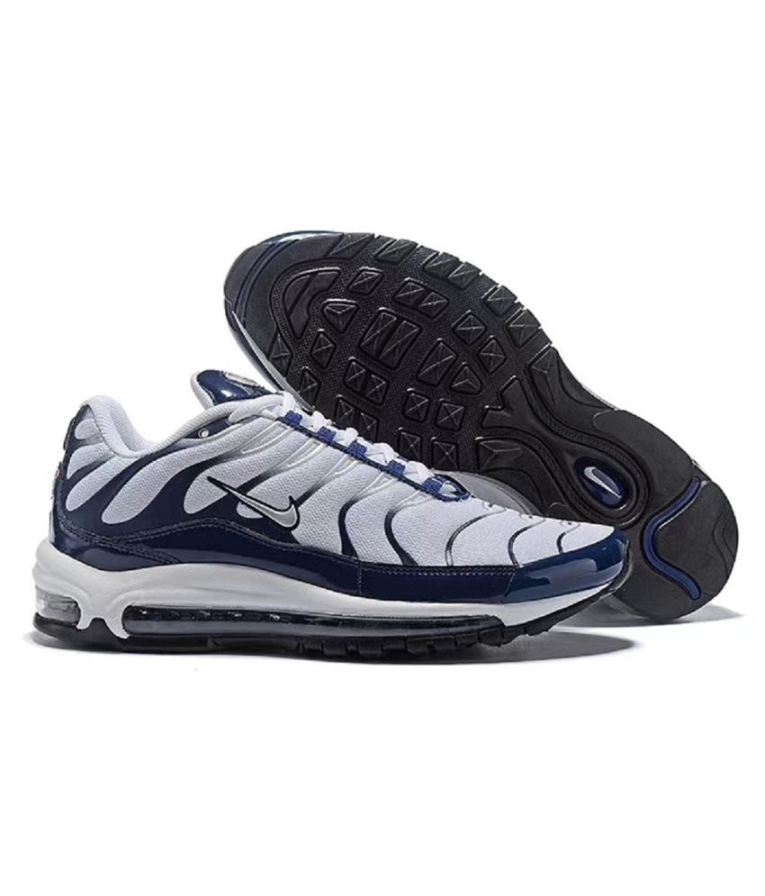 finest selection 383b7 40c64 Nike Air Max 97 Plus Limited EDD Running Shoes White For Gym Wear