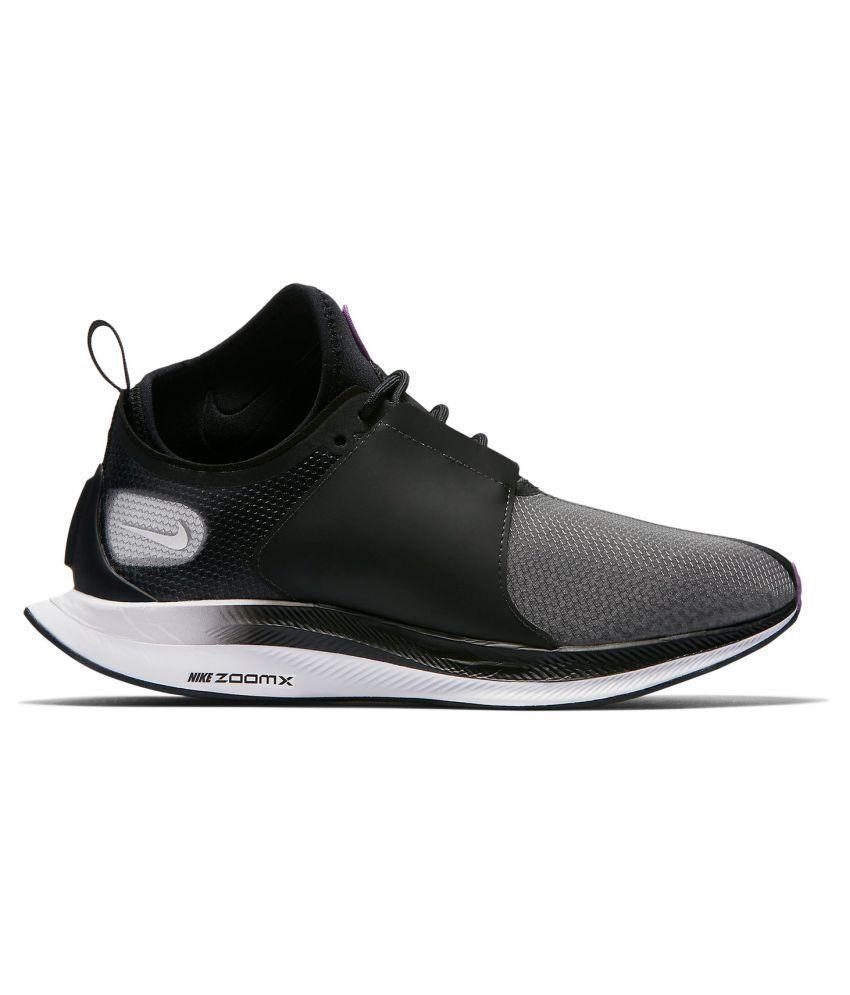 2d8b606ee81 ... Nike Zoom Pegasus Turbo XX 2019 LTD Running Shoes Black For Gym Wear ...