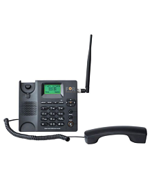 For F2+ Wireless GSM Landline Phone ( Black )