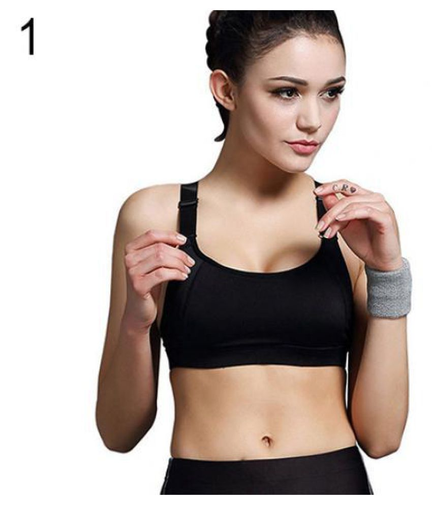 52ba6f832a Buy Fashion Girl Women Yoga Sports Padded Bra Gym Fitness Running Top Tank  Racerback Online at Best Prices in India - Snapdeal