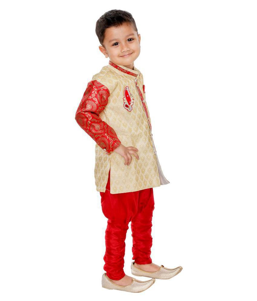 Namera Red Kurta Pyjama For Boys