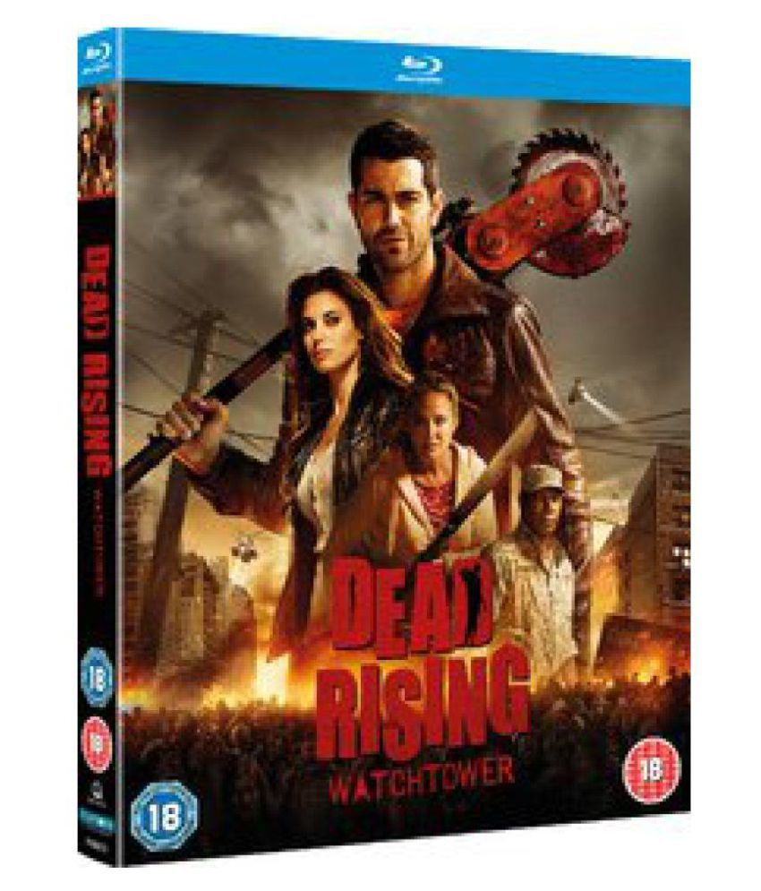Dead Rising Watchtower Blu Ray English Buy Online At Best Price In India Snapdeal