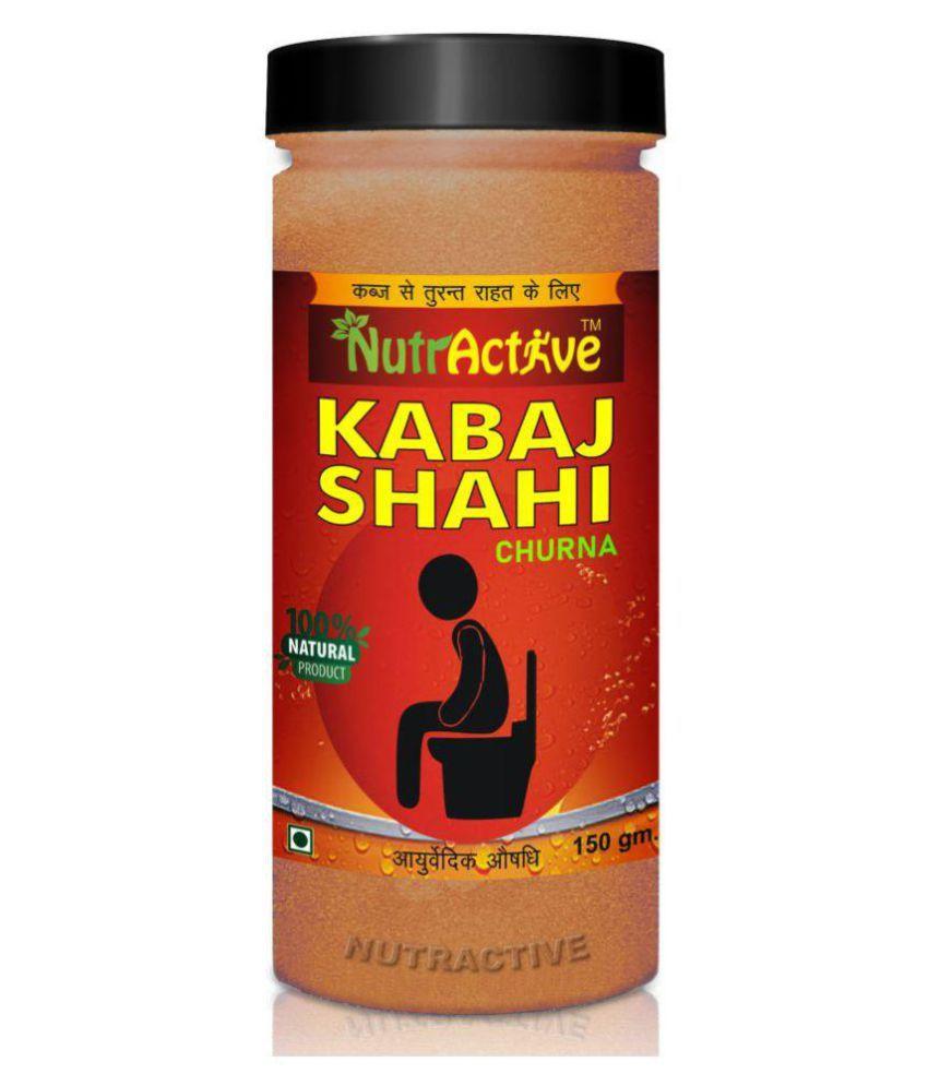 NutrActive Kabaj Shahi Churna| Relief Powder 150 gm Pack Of 1