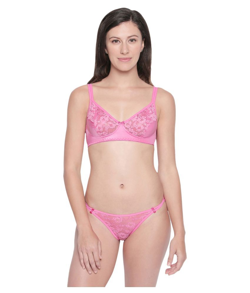 cd162be2b4a Buy Bodycare Nylon Bra and Panty Set Online at Best Prices in India -  Snapdeal