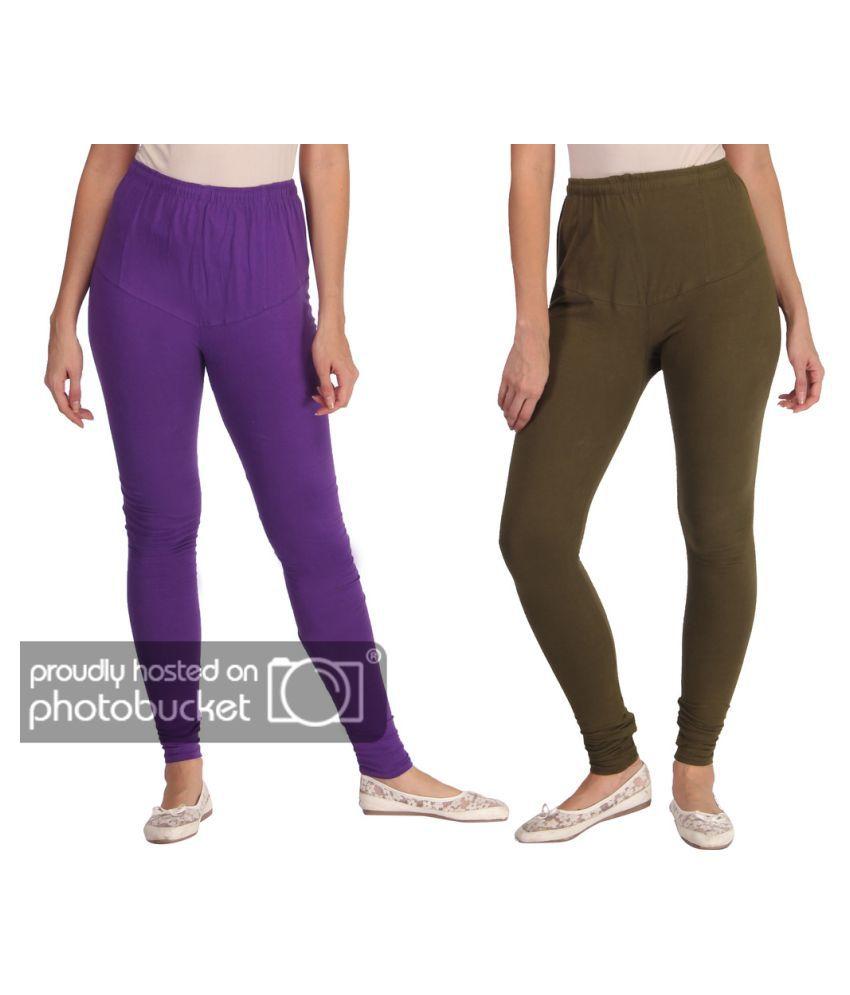 EMPISTO Cotton Lycra Pack of 2 Leggings