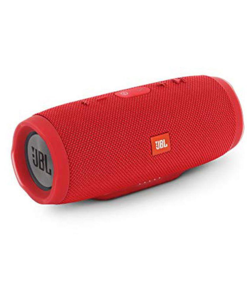 New JBL CHARGE 3 PORTABLE 2 0 Speakers - Red