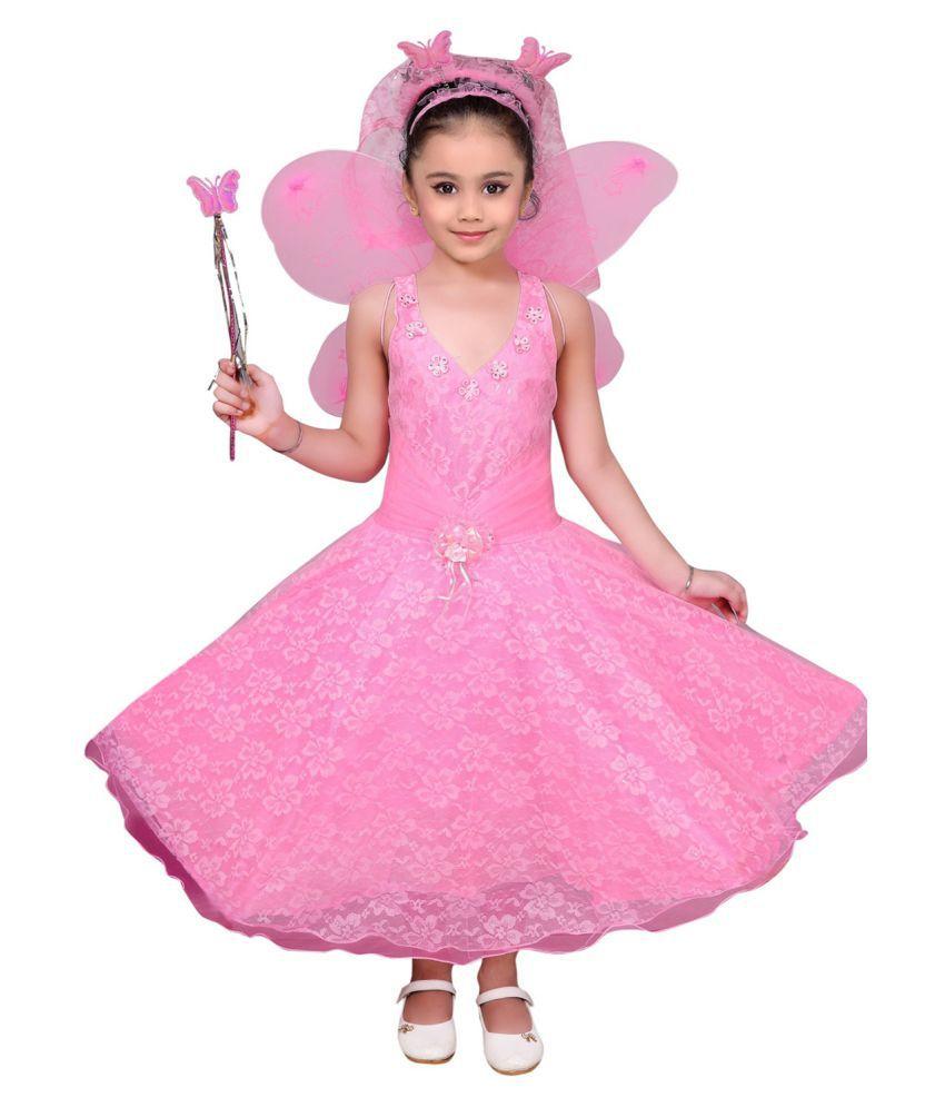 Kidling Kids Party Wear Pari Dress for Girls