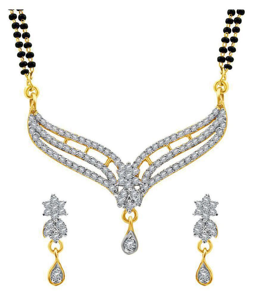 7bec5c0c7e4c1 MFJ Fashion Jewellery Gold Plated American Daimond Long-lasting ...