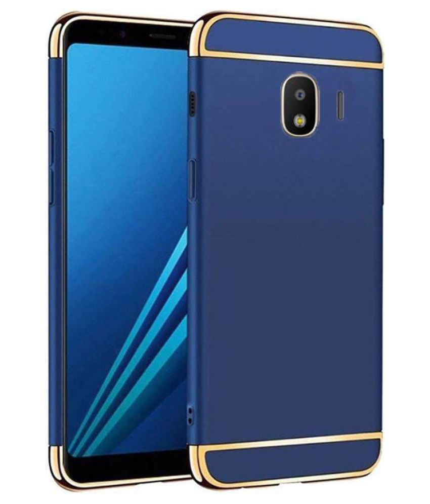 Samsung J2 (2018) Plain Cases Bright Traders - Blue
