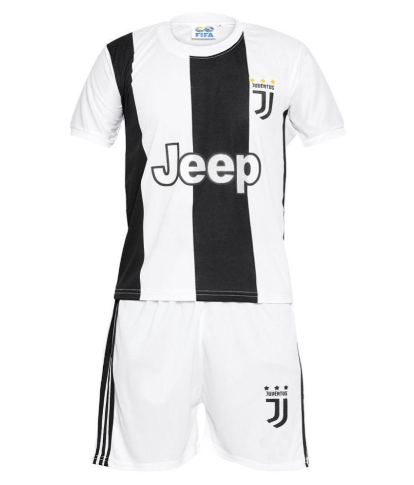 info for 91a4a ce2c3 Sportigoo KIDS JUVENTUS Ronaldo 7 Football Jersey - White