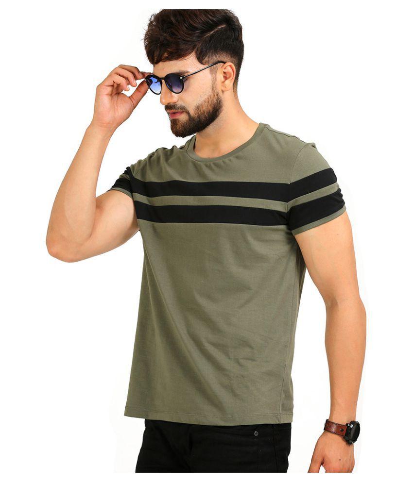 b91141606 AELOMART Green Half Sleeve T-Shirt - Buy AELOMART Green Half Sleeve T-Shirt  Online at Low Price - Snapdeal.com