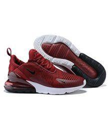 Nike Air Max 270 Running Shoes Maroon