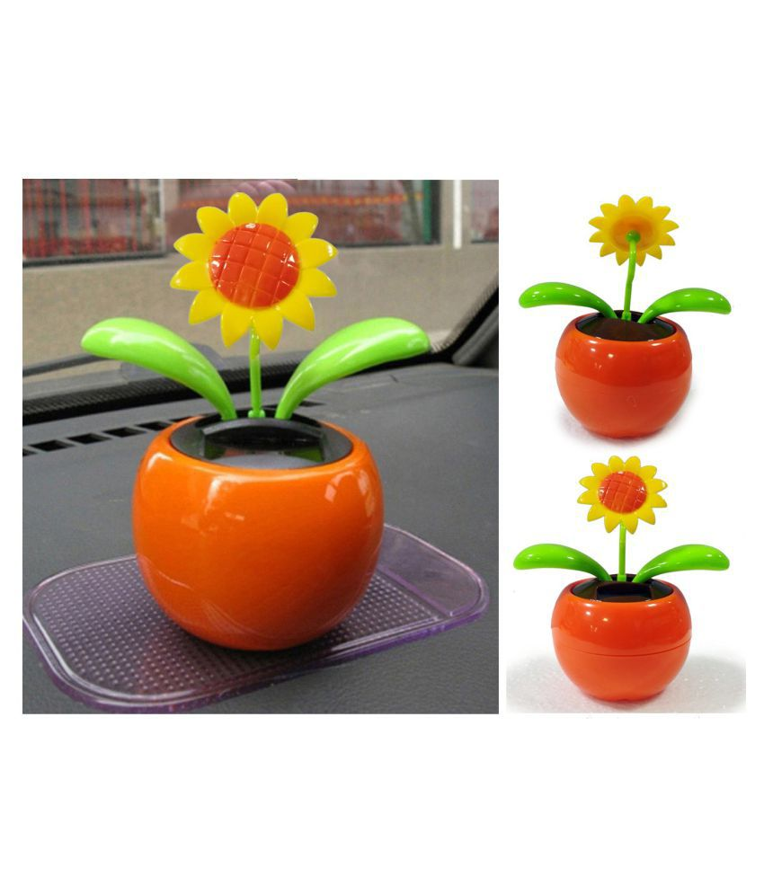 d10115f88 ... NJ STAR Solar Powered Dancing Toy Apple Sunflower